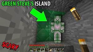 Green Steve left me a sign in Minecraft... (Green Steve ...