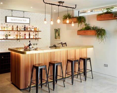 Home Bar Design Ideas Houzz by 680 Industrial Home Bar Design Ideas Remodel Pictures