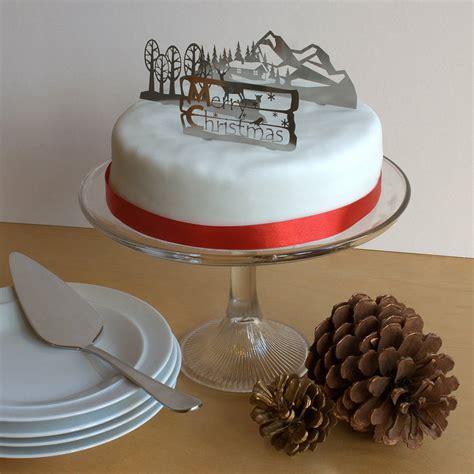 set   metal christmas cake decorations  gilbert