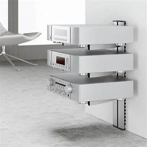Etagere Murale Tv : etagere hifi ~ Teatrodelosmanantiales.com Idées de Décoration