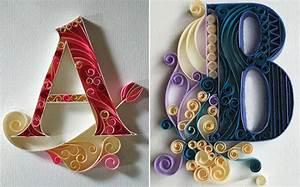 Deko Aus Papier : kreative wandgestaltung mit buchstaben deko aus papier als ~ Lizthompson.info Haus und Dekorationen