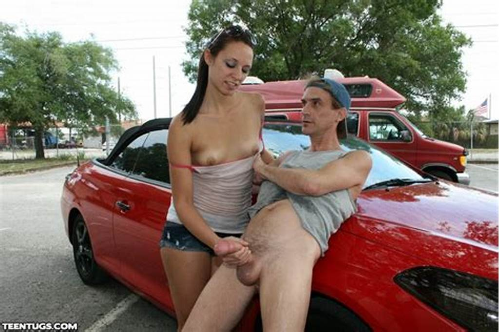 #Ashley #Storm #Washing #Car #And #Milking #Huge #Dick #Public