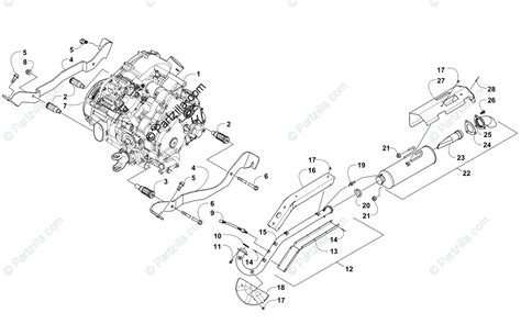 Arctic Cat Engine Diagram by Arctic Cat Side By Side 2014 Oem Parts Diagram For Engine