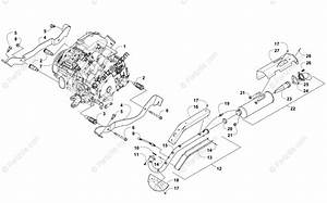 Arctic Cat Side By Side 2014 Oem Parts Diagram For Engine