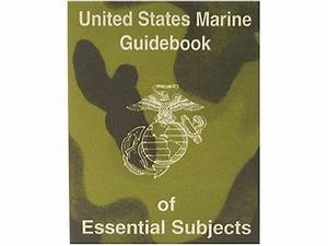 U S  Marine Guide Book Of Essential Subjects Military