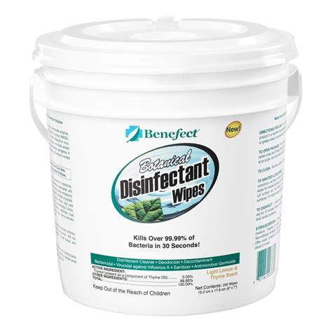 Benefect Botanical Disinfectant Wipes - Buy Janitorial Direct