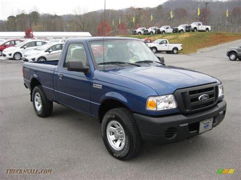 2008 ford ranger xl regular cab 4x4 in vista blue metallic photo 4 a90222 truck n sale