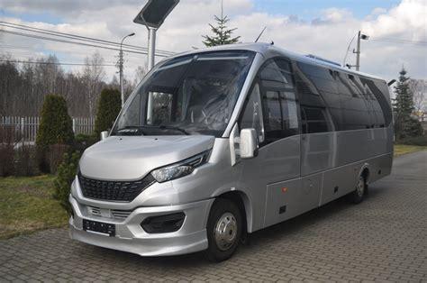The bus was shown at busworld turkey. IVECO Tourist Bus - 31 seats, silver metallic - 2020 production | CMS Auto - Producent minibusów ...