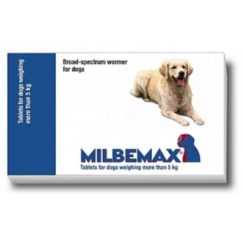 milbemax worming tablets  dogs