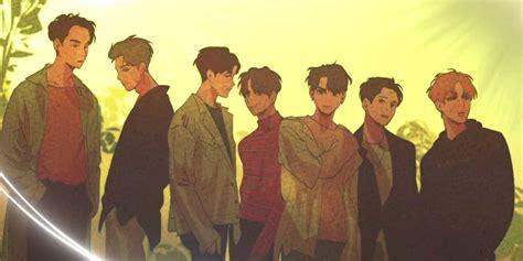 got7 webtoon got7 transform into cute animated characters for webtoon