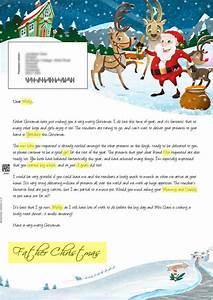 Santa letter direct personalised letters from santa claus for Santa letter direct