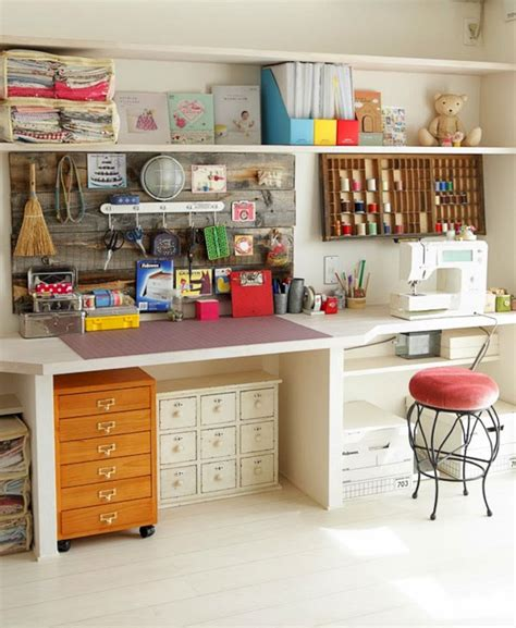Creative Craft Room Storage Ideas (creative Craft Room