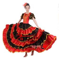 Women Flamenco Dance Dress Adult Paso Doble Dance Dress Flamenco
