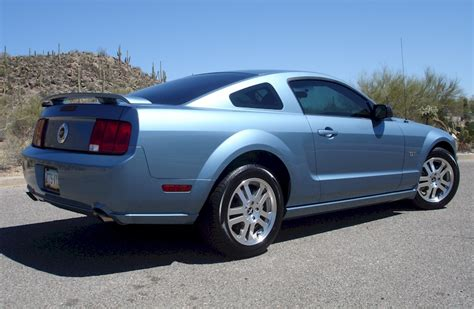 windveil blue  ford mustang gt coupe mustangattitude