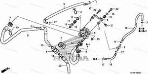 Honda Motorcycle 2008 Oem Parts Diagram For Air Suction