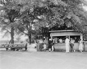 People At Roadside Fruit Stand 1920s 8x10 Reprint Of Old