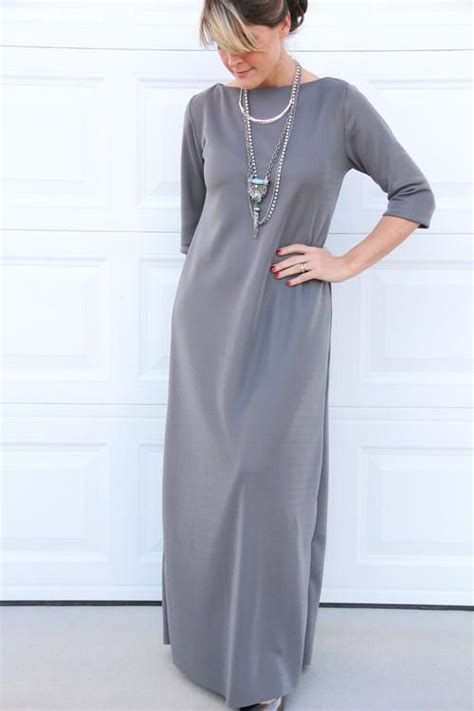 easy  hour maxi dress sewing patterns ideas easy