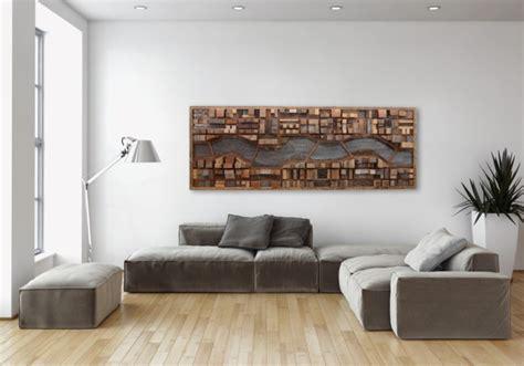 wanddeko wohnzimmer holz 40 verbl 252 ffende ideen f 252 r wanddeko aus holz archzine net