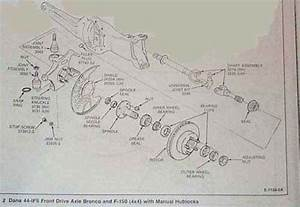 A Diagram Of The Breakdown Of Rotor Off 1979 4x4 Front