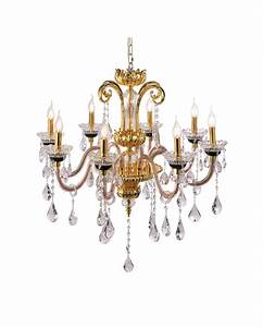 Paul neuhaus gracia traditional brass chandelier