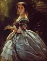 Franz Xaver Winterhalter Princesse Trubetskaya 1859 Mode ...