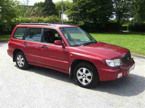 subaru forester red subaru 2002 forester sport in metallic red one owner