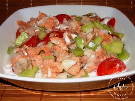 cuisiner des petits pois frais salade tahitienne au saumon la tendresse en cuisine