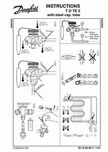 Danfoss T 2    Te 2 Installation Guide
