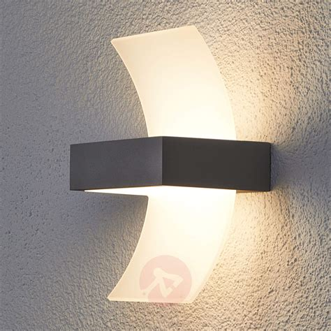 applique d ext 233 rieur led skadi courb 233 e luminaire fr