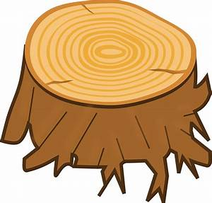 Timber clipart tree log - Pencil and in color timber
