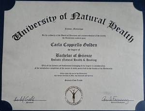 Bachelor of Science Degree & Practitioner Certifications ...