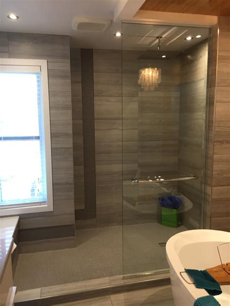 panneau sur mesure pour douche en verre vitrerie verre