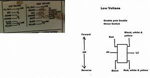 I Need Some Assistance With The Wiring Of A Dayton 6k324ba 1 5hp Motor To A Dpdt Switch For