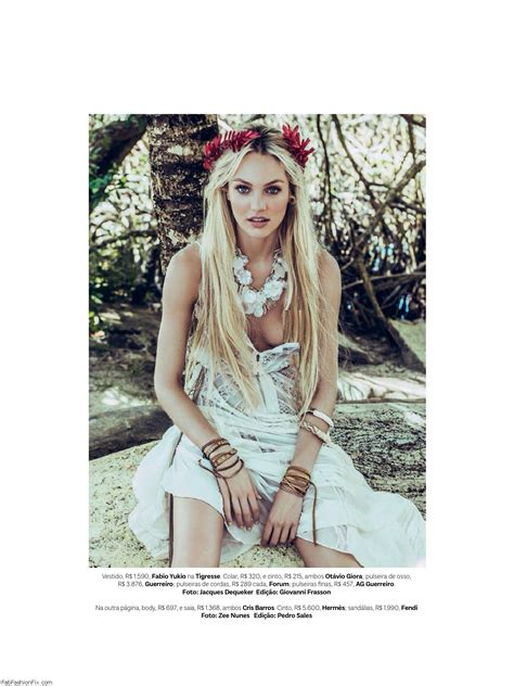 candice swanepoel  vogue brazil january  fab