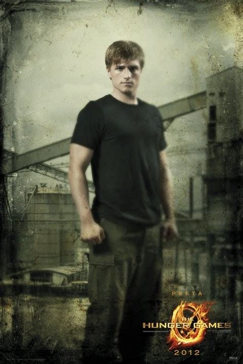 hunger games peeta in district poster sold at europosters