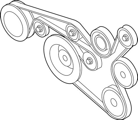 2013 volkswagen jetta ac belt ribbedbelt serpentine belt