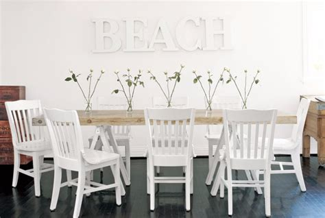 beach kitchen table and chairs 10 contemporary white dining rooms