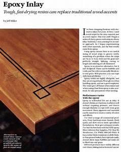 Epoxy Inlay Techniques • WoodArchivist