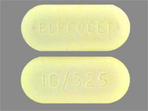 Percocet 10325 Side Effects In Detail Drugscom
