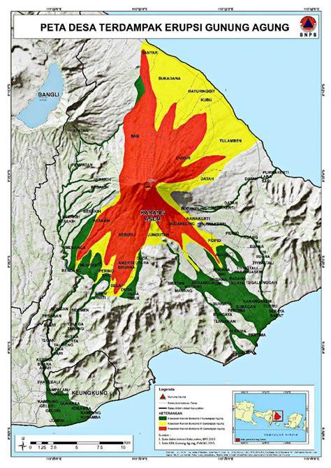 mount agung status  updates bali volcano eruption