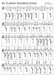 Bassoon Chart Instrument Resources