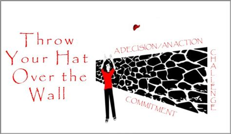 coaching model throw  hat   wall