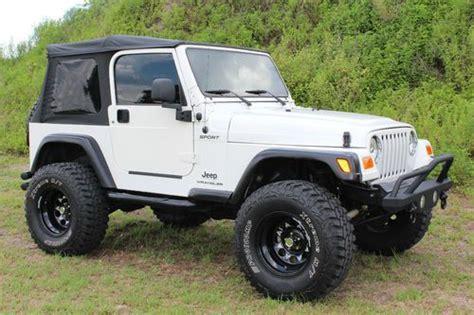 jeep wrangler 2 door modified find used 2004 jeep wrangler sport utility 2 door 4 0l