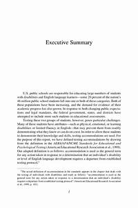 executive summary apa format example With apa format executive summary template