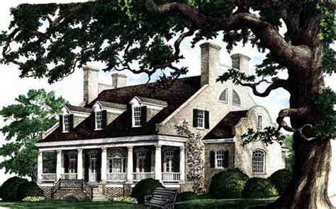 southern plantation home plans colonial plantation southern house plan 86174 house