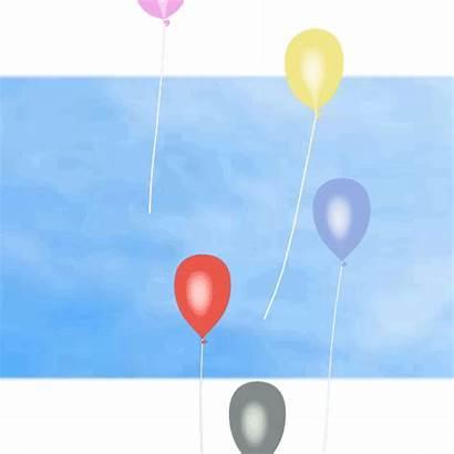Balloon Animation Celebration Loop Transparent 2d Effects