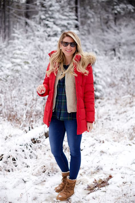 outfit  perfect snow coat shop dandy  florida based style  beauty blog  danielle