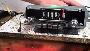 1966 Ford Galaxie 500 Original Am Radio