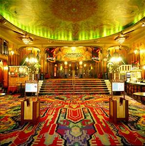 Tuschinski foyer for Art deco cinema interior