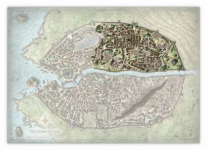 River District Neverwinter Map